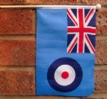 RAF ENSIGN - HAND WAVING FLAG (MEDIUM)